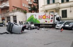 Incidente via Marziale, Balduina ROMA